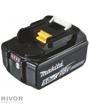 Makita Аккумулятор 18 В, 5,0 Ач ; LI-ION; BL1850B