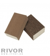 Abrasives sponges 4-Sides (4x4) 100x70x25mm Coarse