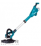 Makita cordless wall and ceiling sander; 18V, AWS, 225 mm, Adjustable speed, BL