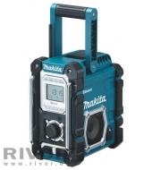 Makita Site Radio with Bluetooth and Mobile USB Charging Sock (without battery and charger)