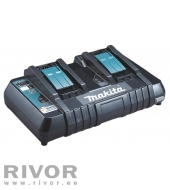 Twin port charger DC18RD, 14.4-18V, 2 batterys 15-45 min