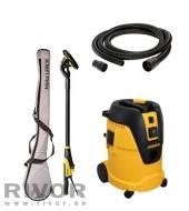 Sander Leros 950CV + Vacuum 1025L with hose