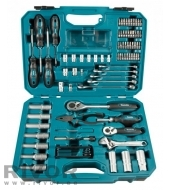 87-piece hand tool set Makita E-08458
