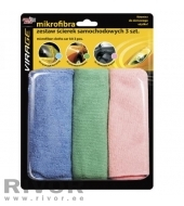 MA Microfiber cleaning cloth 3pcs