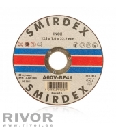 Smirdex 914 Metal Cutting Inox 125x1x22mm