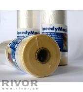 Обложка пленки с липкой лентой Speedymask 1100мм x 33м
