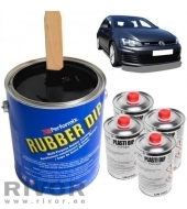 Plasti dip Car set