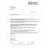 Ametlik teadaanne DINOL GmbH-st Eesti turu kohta!