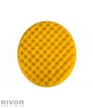 Подушка для полировки желтая вафельная 200х35мм 2шт/уп