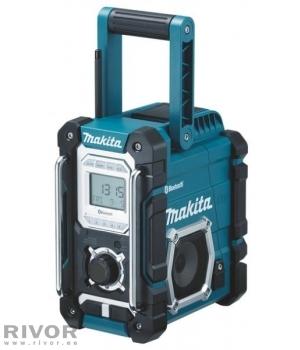 Makita Raadio, Bluetooth ja USB; Ilma akude ja laadijata! (töötab Makita akudega 7,2 - 18V)