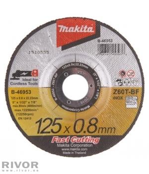 Makita Lõikeketas 125x0.8mm z60T RST/Metall