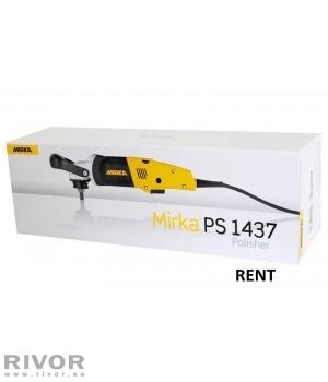Mirka Polisher 1437 rent 1 day