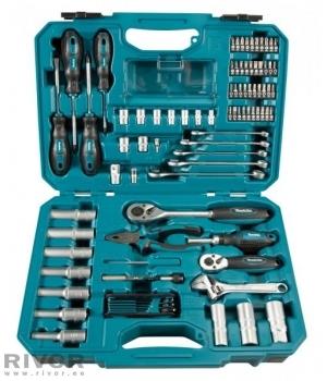 87-piece hand tool set Makita E-08458