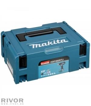 Makita аккумуляторная дрель+ 2 литий-ионных аккумулятора по 5,0 Ач
