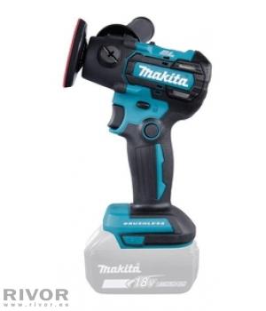 Makita аккумуляторная шлифовальная-полировальная машина LXT 18V (без аккумулятора и зарядного устройства) BL! 18V • 50 / 75 mm • 0 - 2 800 / 9 500 minˉ¹