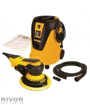 Sander DEROS650 + vacuum cleaner 1025L set