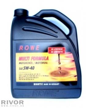 Rowe Multi Formula 5W-40 (ACEA C3) 5L