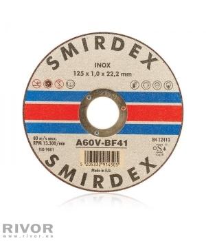 Smirdex 914 Metal Cutting Inox 125x1x22mm
