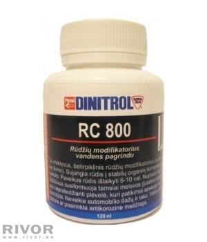 Dinitrol RC800 преобразователь ржавчины 125мл /   паста