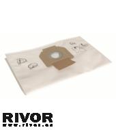 Dustbag Fleece for DE 1025 L, 5/Pack
