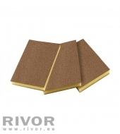 Abrasives sponges 2-Sides (2x2) 120x90x10mm Fine