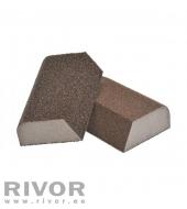 Abrasives Sponges 4-Sides (4x4 combi) 100x70x25mm Coarse