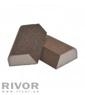 Abrasives Sponges 4-Sides (4x4 combi) 100x70x25mm Medium