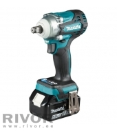 Makita Cordless Impact Wrench 18V; 330 Nm; (2X5.0Ah battery included; quick charger)