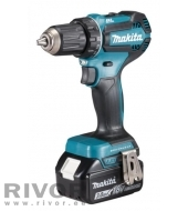 Makita Cordless Drill 18V 25 / 50nm BL set (includes DC18RC charger + 2x 5.0 ah battery)