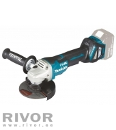 Makita Cordless angle grinder with 18V pedal AWS, regul. speed (without battery and charger)
