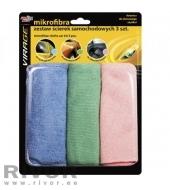 MA Microfiber cleaning cloth 3pcs