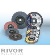 Sait Flap Discs ZP60 Conical 125x22mm