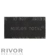 MIRLON TOTAL õhuke XF must 115x230mm