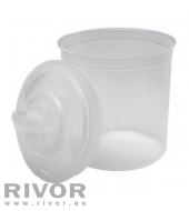 PPS Container + Lid 600ml