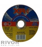 Metallilõikeketas 125x1,0x22 INOX XR3