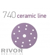 Smirdex 740 Ceramic 150мм P400  15 отв   липучка