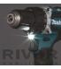 Makita Akutrell 18 V komplekt (sisaldab 2akut 5,0 Ah ja laadijat)