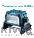 Makita akutoitel Prožektor DML809Z 10,000 lm